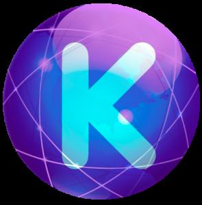 Logotipo con K de Nutrikalia