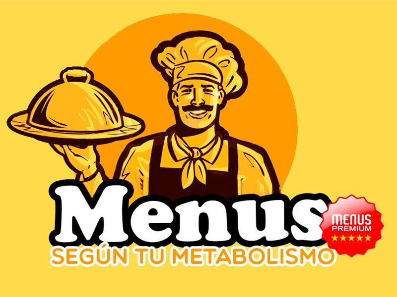 Menús según tu Metabolismo Basal (TMB)